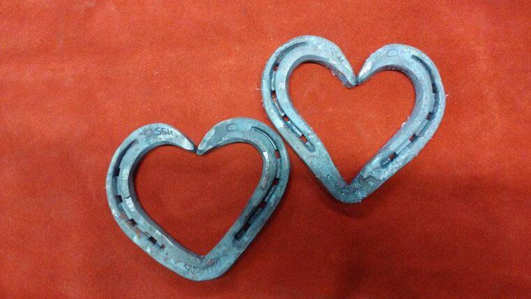 Blacksmith Horseshoe Hearts