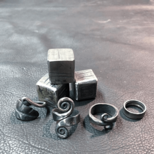 Jewelry and dice forging workshop